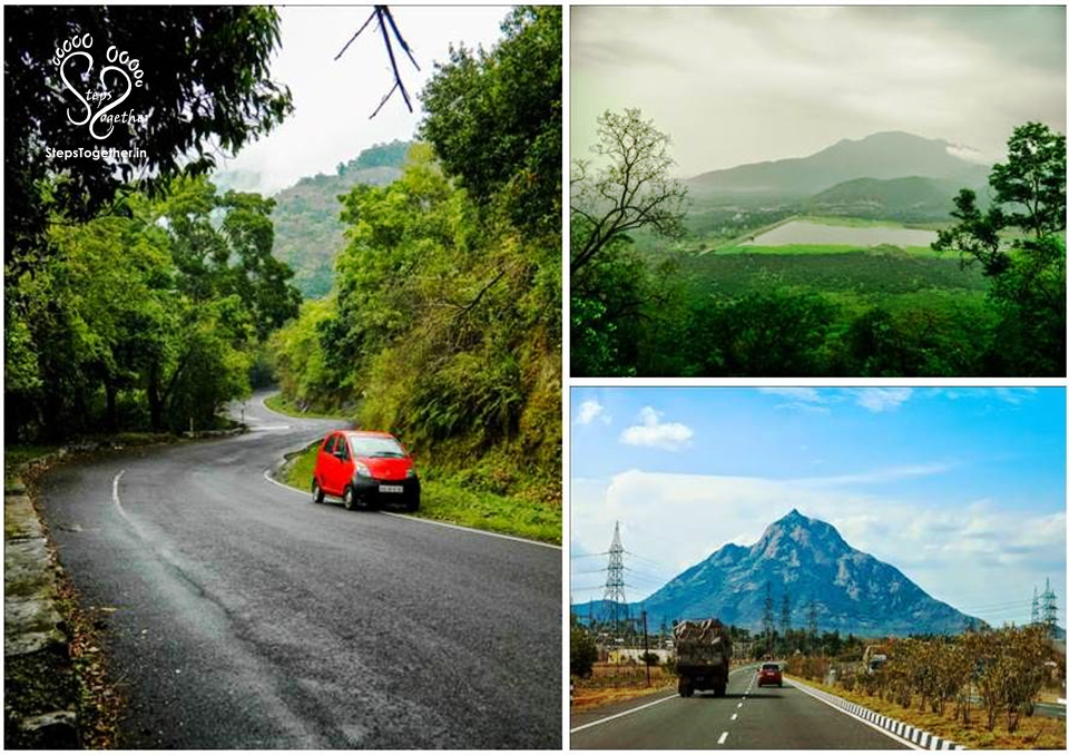 View on the Way (from Kodaikanal to Bangalore)