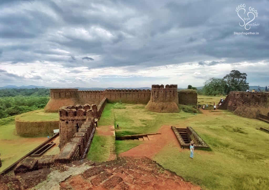 Inside Mirjan Fort