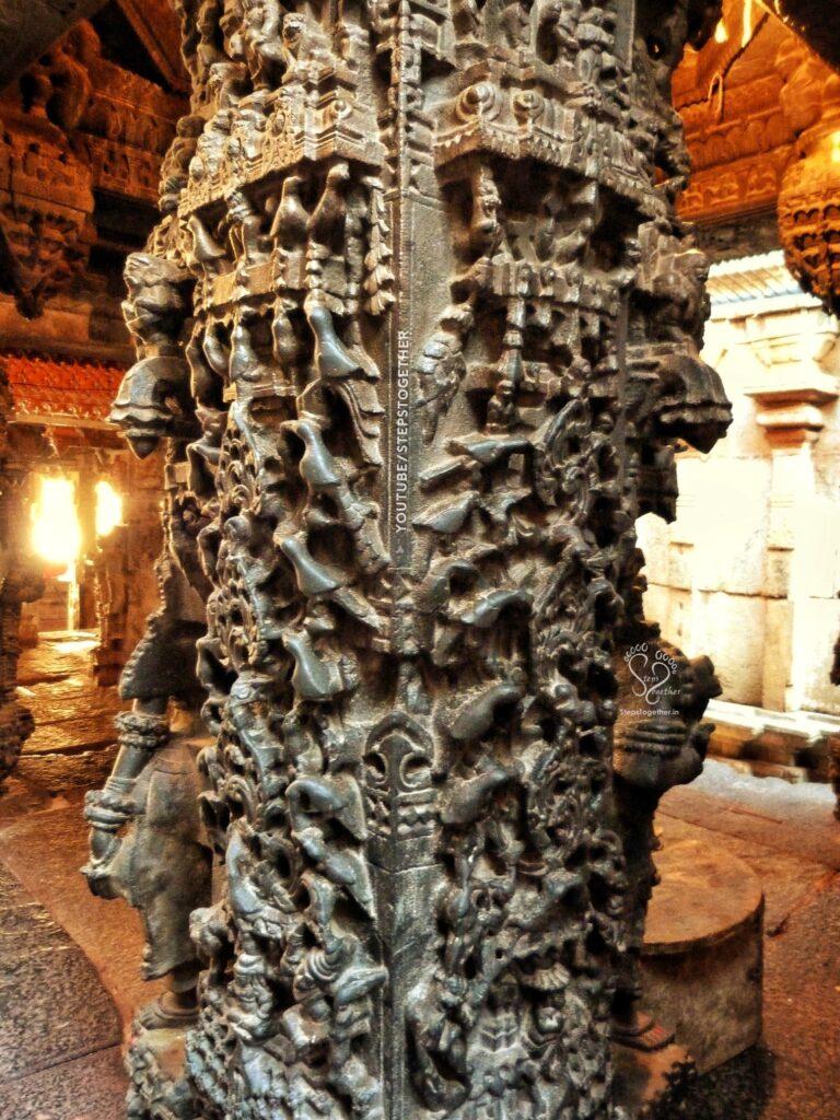 Vasanta Mantapa Pillar